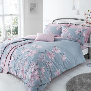 SINGLE DUVET COVER Arrabella Duck Egg
