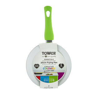 Tower Ceramic Green Frying Pan 20cm