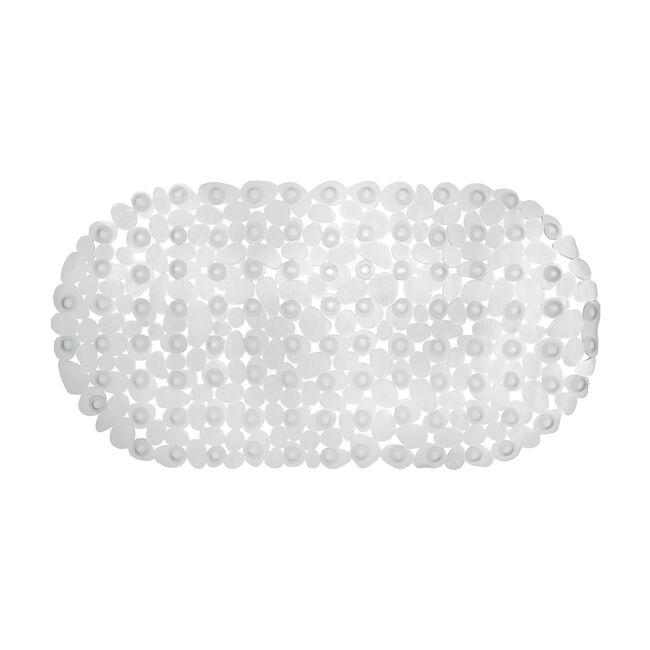 Cobbles Grey Bath Mat 68cm x 35cm