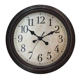 Antique Wall Clock 20""