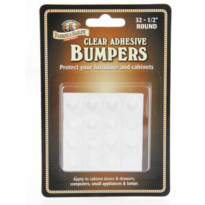 Parker & Bailey Clear Bumpers 32 Pack