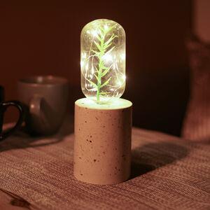 Marble Base Bulb Lamp