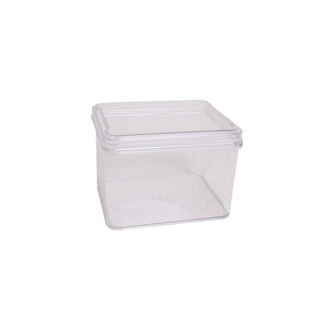 Fridge & Freezer Bin With Lid 17.6X13.8X10.9cm