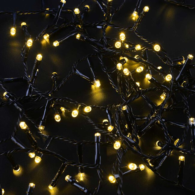 500 Warm White LED Star Bright Compact Lights