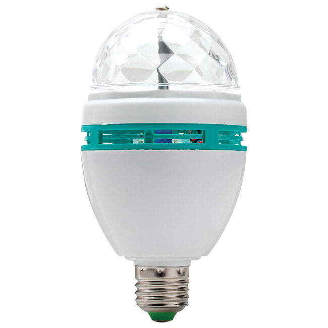 Gadgetpro LED Full Colour Rotating Bulb
