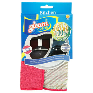 Gleam Clean Microfibre Kitchen Cleaning Pad