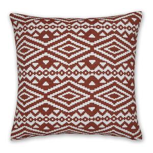 Aztec Cushion 58x58cm - Terra
