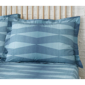 Ava Oxford Pillowcase Pair - Teal