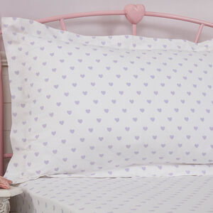 Princess Tutu Oxford Pillowcase Pair - Lilac
