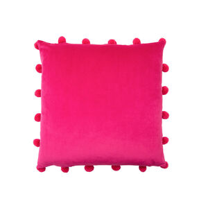 Large Bobble Cushion 45x45cm - Pink