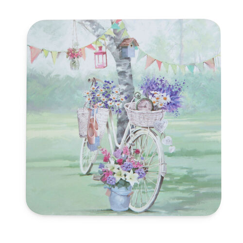 Bicycle Mats & Coasters 4 Pack