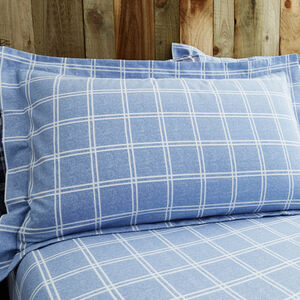 Cotton Hughes Check Oxford Pillowcases