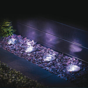 4 Solar Deck Lights