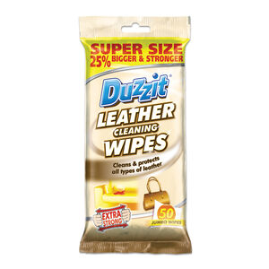 Duzzit Leather Cleaning Wipes 50pk