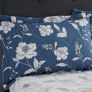 Caroline Blue Pillowshams 50x75cm