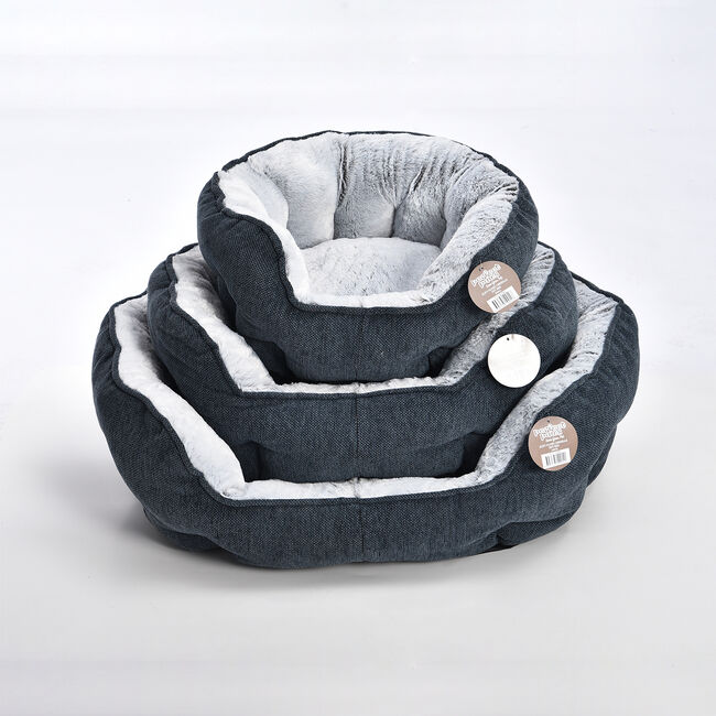 Soft Plush Chenille Pet Bed - Small