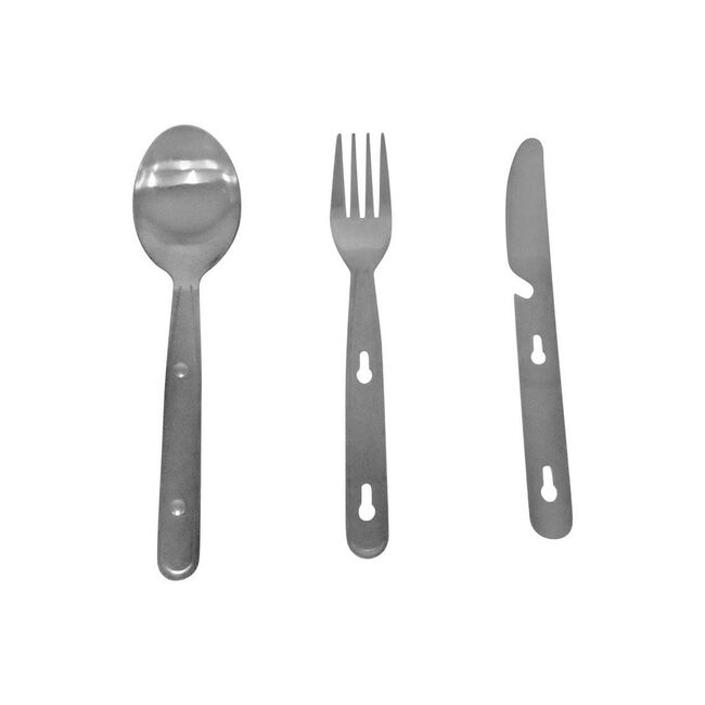 Camping 3 Piece Cutlery Set