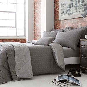 SINGLE DUVET COVER Dave Charcoal