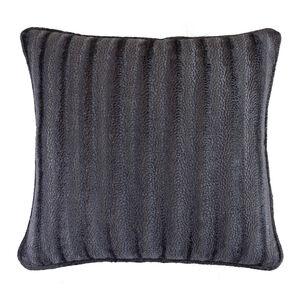 Velvet Embossed Grey 45x45 Cushion