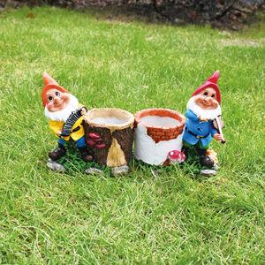 Gnome Musician Plant Pot