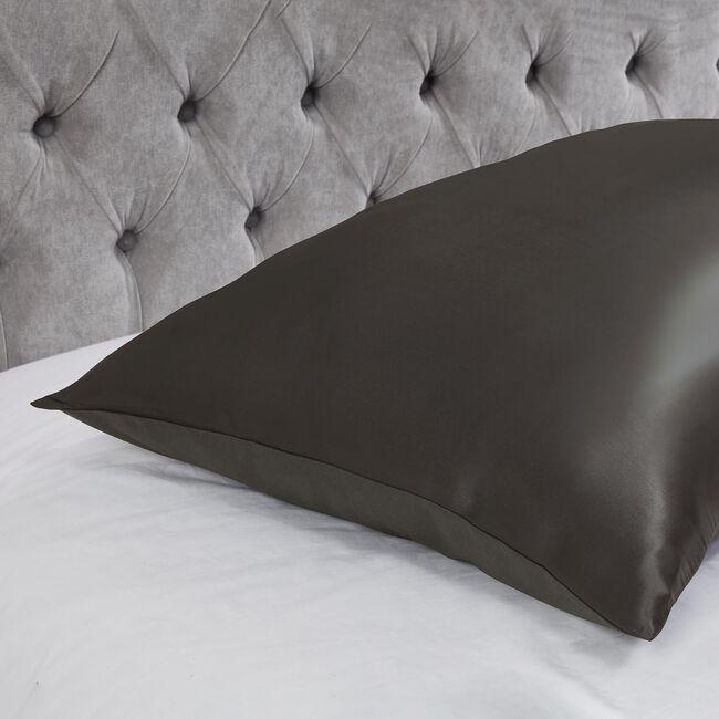 Silk Pillowcase - Charcoal