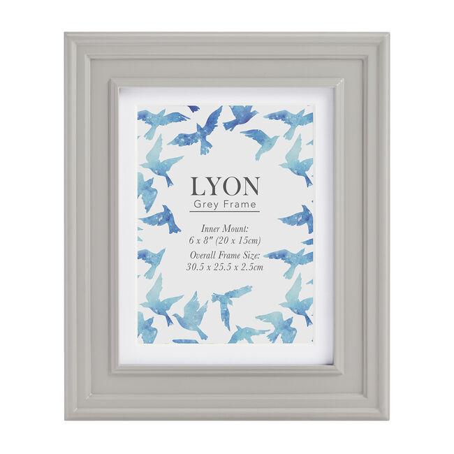 4x6 LYON GREY Frame