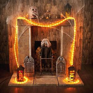 Halloween Orange Rope Light 4.5M