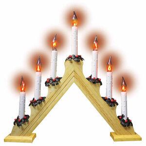 Christmas Candlebridge with Lights