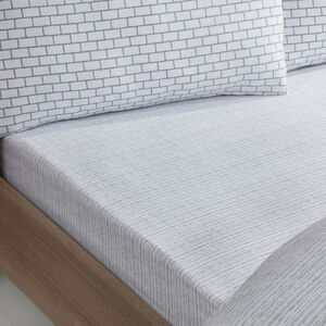 Brickwork Fitted Sheet