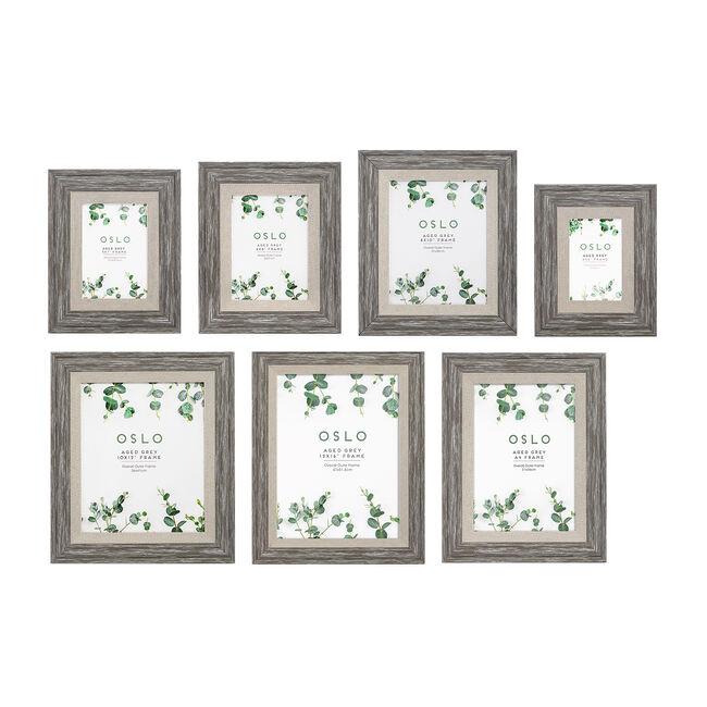 5x7 OSLO AGED GREY Frame
