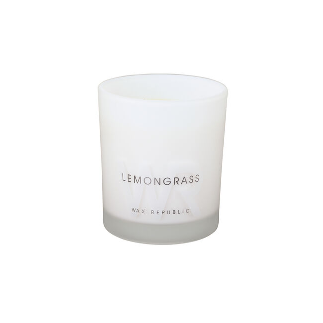 Wax Republic Lemongrass Scented Candle
