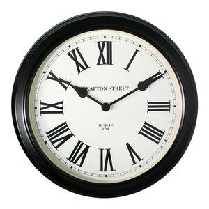 Dublin Clock Black 50cm