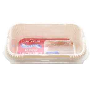 Mason Cash Loaf Tin Liners 40 Pack