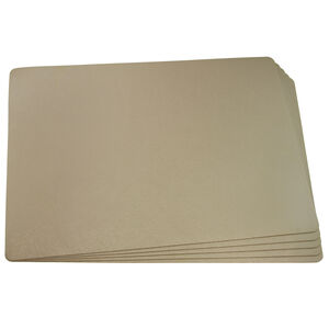 Leather Gold Placemat