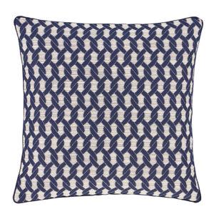 Rope Navy Cushion 58cm x 58cm