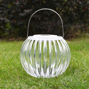 20Cm Acrylic Solar Table Light