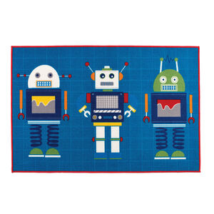 Robots Children's Floormat 100cm x 150cm