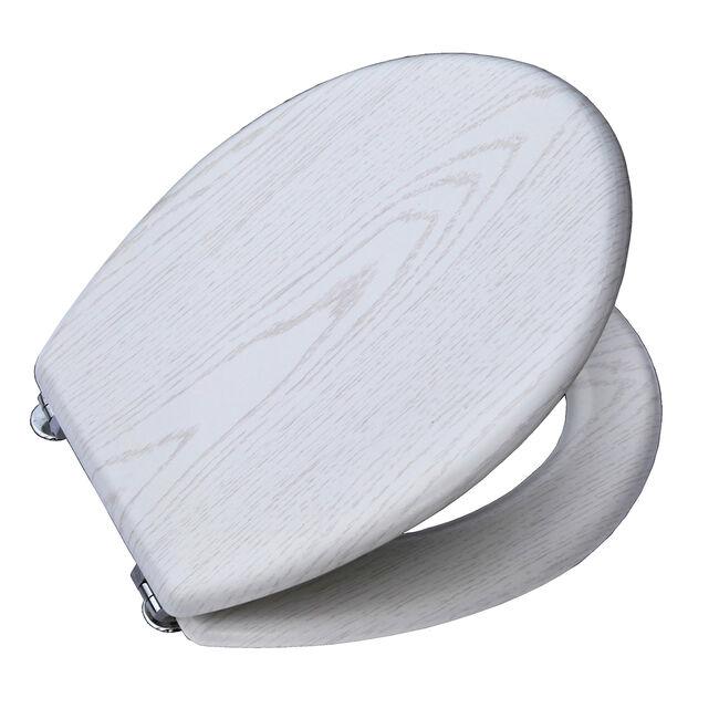 Oak Toilet Seat