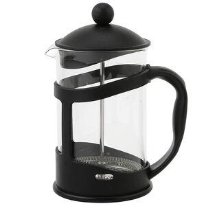 Glona Glass Cafetiere 800ml - Black