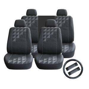 Universal Car Seat Cover Set 11 Piece