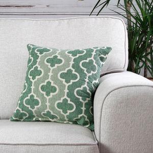 Mairead Trellis Green Cushion 45cm x 45cm
