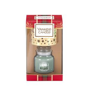 Yankee Christmas Small Jar & Shade Gift Set