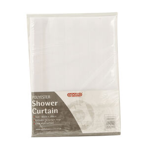 Shower Curtain White