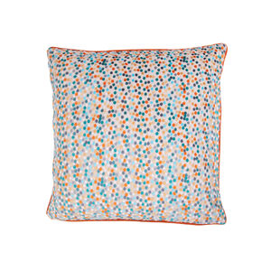 Sophie Spot Cushion 45 x 45cm - Orange