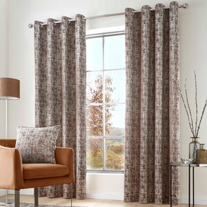 SAOIRSE CHOCOLATE 66X54 Curtain