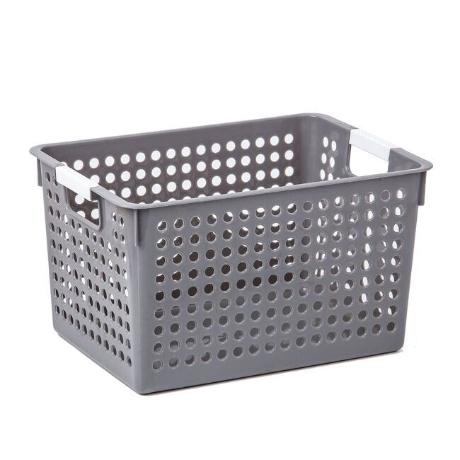 Connect Storage Basket Grey 10L