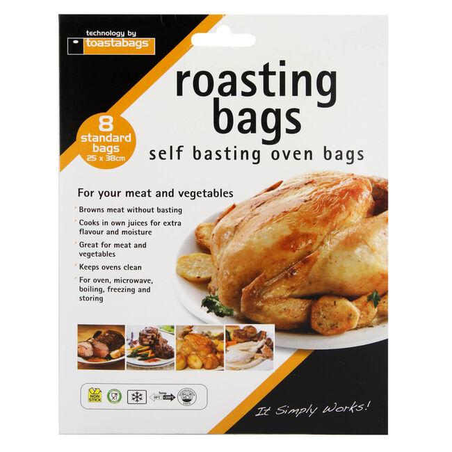 Toastabags Standard Roasting 8 Bags 25cm x 38cm