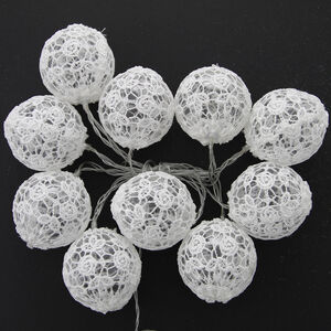 10 LED Lace Ball String Light