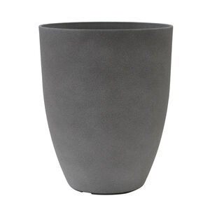 Medium Volcanic Grey Stone Plant Pot