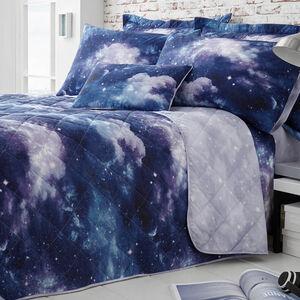 Benji Blue Bedspread 200cm x 220cm
